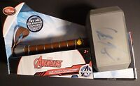 CHRIS HEMSWORTH Authentic Hand-Signed THOR MJOLNIR (SOUNDS) HAMMER (EXACT PROOF)
