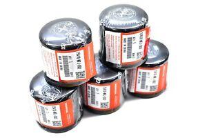 x5 Honda Oil Filter 15410-MDJ-D01 Factory Oil Filter & Seal Cartridge 5 Pack R65