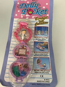 Dolly pocket Vintage 1990s Aomilar To Polly Pocket Toy New Old Stock