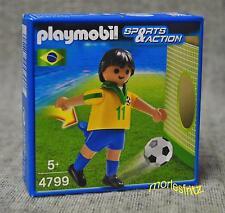 Playmobil 4799 Fußballspieler Brasilien Fußball Sports & Action Neu