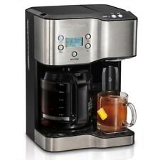 Hamilton Beach Coffee Maker Programmable 12-Cup Hot Water Dispenser Black New