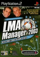 LMA Manager 2003 PS2 - Free Postage