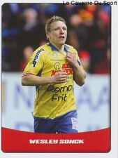 N°334 WESLEY SONCK # BELGIQUE WAASLAND-BEVEREN STICKER PANINI PRO LEAGUE 2015