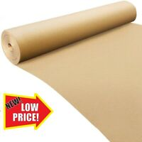 750m x 50m STRONG BROWN  KRAFT WRAPPING PARCEL PAPER ROLL 88GSM