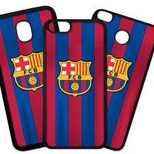 Funda De Movil Carcasa Moviles Modelo Fútbol Deporte Barcelona Escudo Rayas Moda