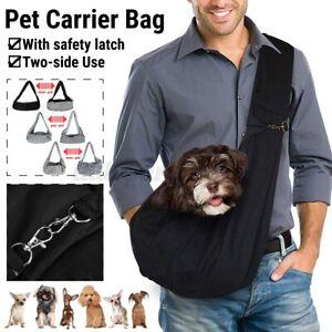 Pet Dog Cat Puppy Carrier Bag Comfort Tote Latch Shoulder Travel Sling Backpack