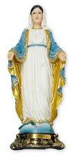 MARY OUR LADY MIRACULOUS 130mm STATUE - CRUCIFIXES CANDLES PICTURES LISTED 939