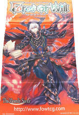 Force of Will FOW TCG A3 Timeline Arsonist Alisaris ORIGINAL WALL BANNER NEW