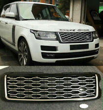 Front Bumper Upper Grille Facelift For Land Rover Range Rover Vogue L405 13-17