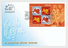 Hongarije / Hungary - Postfris/MNH - FDC Sheet Year of the Dog 2018