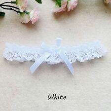 Wedding Bridal Cosplay Leg Garter Belt Suspender Lace Floral Bowknot