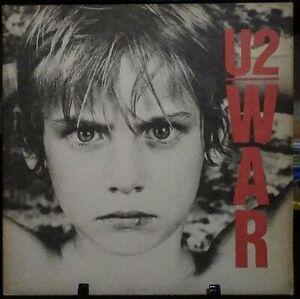 U2 War Gatefold Album Released 1983 Vinyl Collection USA