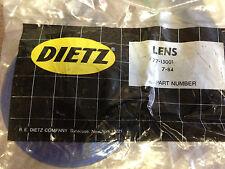 """VINTAGE DIETZ 4"""" Blue Lens 77-15001, 77-150"""
