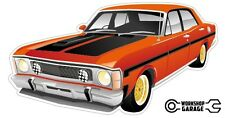 FORD FALCON XW GT HO 351 - Red with Simmons