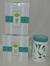 Scentsy Entwine Warmer W/Teal Sleeve