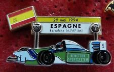PIN'S F1 FORMULA ONE BENETTON SCHUMACHER GRAND PRIX ESPAGNE 94 ZAMAC JFG MIAMI