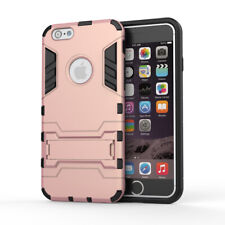 For iPhone 6 & iPhone 6S - Dual Layer Hybrid Shockproof Hard Armor Case Cover