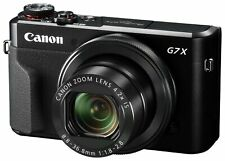 Canon PowerShot G7 X Mark II  Black Japan Domestic New