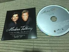 MODERN TALKING - FINAL ALBUM CD EU 2003 BEST OF - ITALO DISCO SYNTH POP