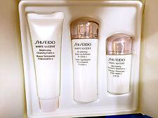 Shiseido White Lucent Brightening Balancing Softener Enriched 3pcs Travel NoBox