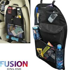 Car Back Seat Organiser Kids Universal Tidy Hanging Multi Pocket Travel Storage