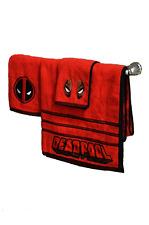 Marvel Deadpool 3 Piece Bath Towel Set