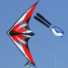 NEW 1.8m 70 In Stunt  Triangle Delta Kite Outdoor Fun Sports Dual line Surfing