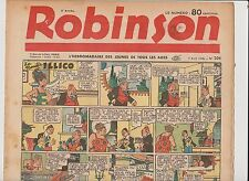 ROBINSON n°206 - 7 Avril 1940 - TTB