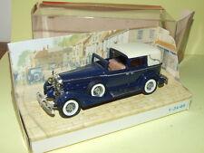 CADILLAC 452 V16 1933 Bleu MATCHBOX Y-34