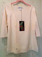 Silk Assets Diane Von Furstenberg Silk Knit Sweater  IVORY Med