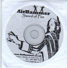 (DE379) Air Hammer, Sword Of Fire - DJ CD