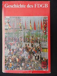 "3172 EAST GERMAN/DDR/GDR/FDGB  COL:D WAR  "" HISTORY Of The FDGB "" circa1982"