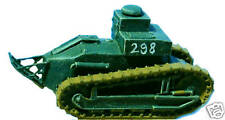 SHQ FT4 1/76 Diecast WWII French Renault FT17 T.S.F Command Tank