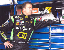 A.J ALLMENDINGER signed NASCAR 11X14 photo with COA