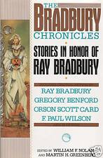 BRADBURY CRONICLES-RAY BRADBURY, WILLIAM F NOLAN & CAMERON NOLAN-ALL SIGNED 1ST