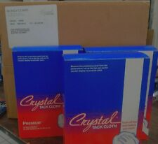 Crystal Premium Tack Cloth by Bond Corp 24 Count - 2 Boxes