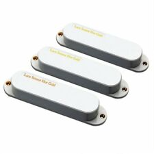 Lace Sensor Hot Gold with Hot Bridge Pickup set for Strat, White 21153-01