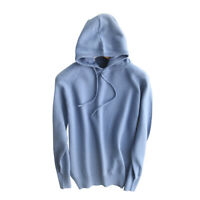 New Womens Cashmere Knitted Pullover Hoodie Sweater Hooded Fall Woolen Casual