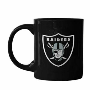 Boelter Brands NFL Oakland Raiders Sculpted Rally Mug, 11-Ounce