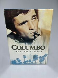 Columbo: The Complete Series (34-Disc DVD Set, 2012) All 69 episodes + 24 movies