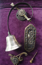 Antique complete Victorian Aesthectic design bell pull system