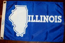 Illinois State Flag – 12 x 18 inches – Taylor Made