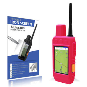 Garmin Alpha 200i accessories kit Protective cover W Iron film screen protector