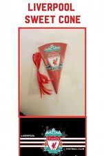 10 LIVERPOOL FC FOOTBALL DIY/party bags/sweet cones/kit/supplies birthday