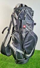 **NEW** OGIO Golf Stand Bag Black Gray 8 Way Divider
