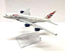 16cm British Airways A380 Die Cast Metal Desk Aircraft Plane Model UK