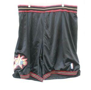 Vintage 90s Philadelphia 76ers Authentic Shorts Sz 48 Reebok