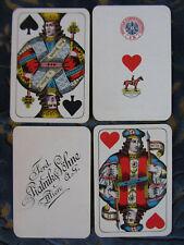 1926/34 PLAYING CARDS PIATNIK VIENNA PATTERN LARGE CROWN GOLDEN CORNER NO INDEX