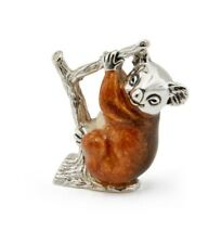 More details for saturno sterling silver and enamel koala - fully hallmarked