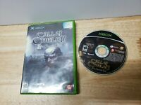 Call of Cthulhu: Dark Corners of the Earth  Xbox Game NO MANUAL READ DESCRIPTION